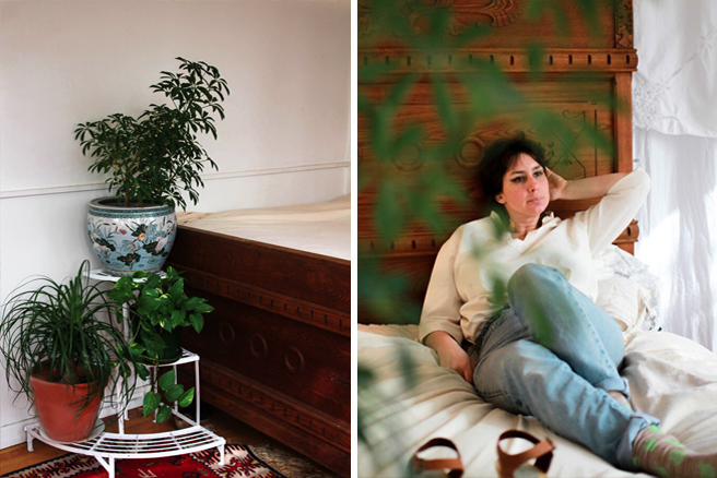 Nina and Plants